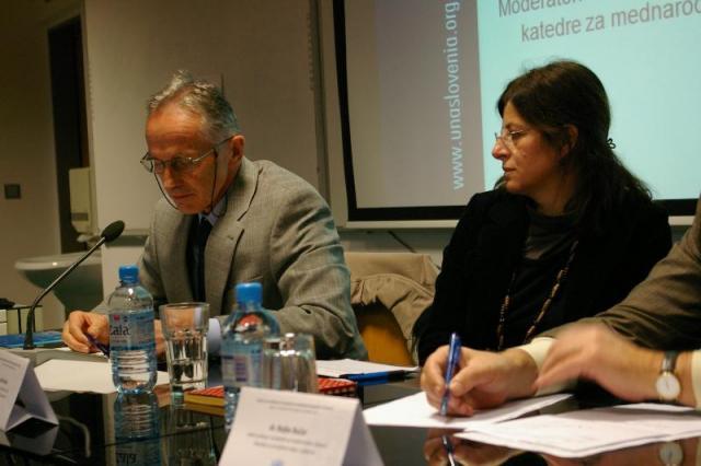 Andrej Kranjc, Služba vlade za podnebne spremembe in Ana Novak, MZZ