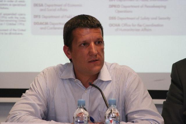 Gašper Hrastelj, namestnik generalne sekretarke Slovenske nacionalne komisije za UNESCO